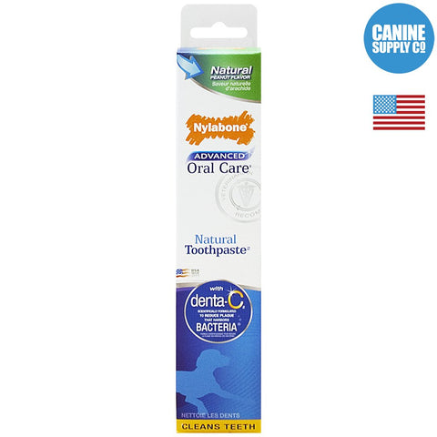Nylabone® Advanced Oral Care Natural Toothpaste | Canine Supply Co.