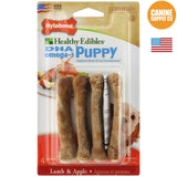 Nylabone Puppy Treats Lamb & Apple 4ct | Canine Supply Co.