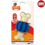 Nylabone Power Chew Double Action Ball, Wolf | Canine Supply Co.