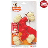 Nylabone Power Chew Double Bone - Bacon Nylon, Petite | www.caninesupplyco.com