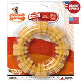 Nylabone Power Chew Textured Ring Chew Toy - Nylon, Souper | Canine Supply Co.