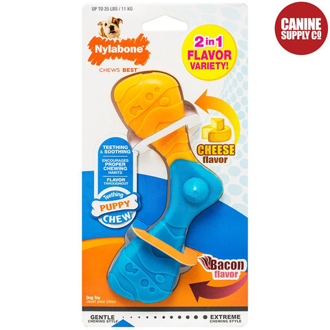 Nylabone Puppy Chew Boomerang - Soft for Teething, Regular | Canine Supply Co.