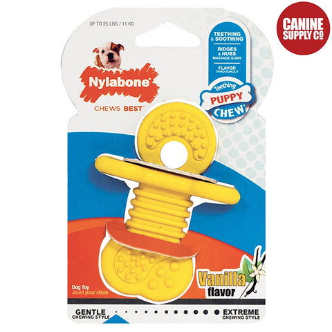 Nylabone Puppy Rubber Teethers - Rubber Teething Toy, Regular | Canine Supply Co.