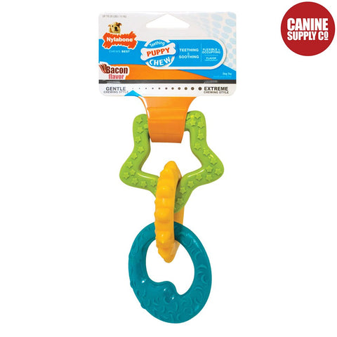 Nylabone® Puppy Teething Rings | Canine Supply Co.