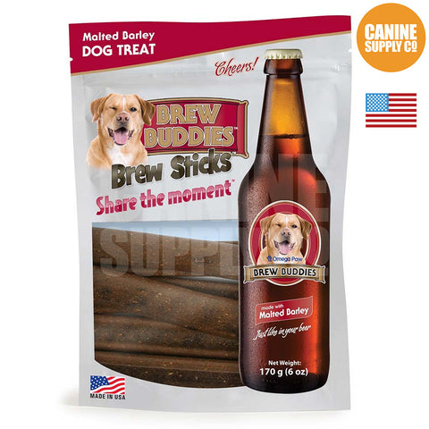 Brew Buddies Brew Sticks™ Malted Barley Dog Treats | Canine Supply Co.