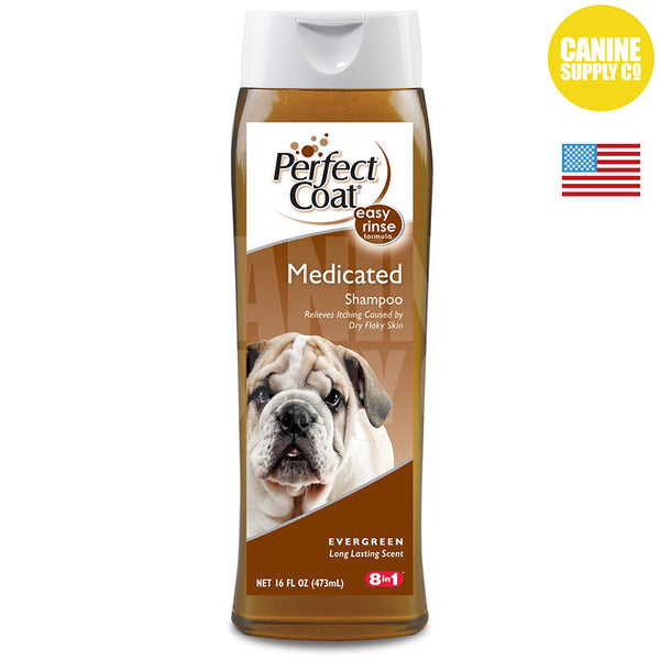 Perfect Coat Medicated Coal Tar Shampoo | Canine Supply Co.