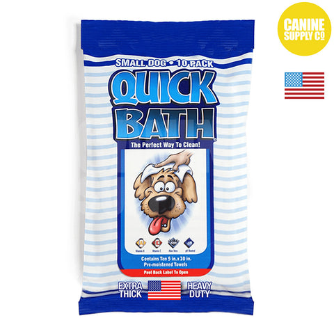 IVS QuickBath® Wipes Small Dogs | Canine Supply Co.