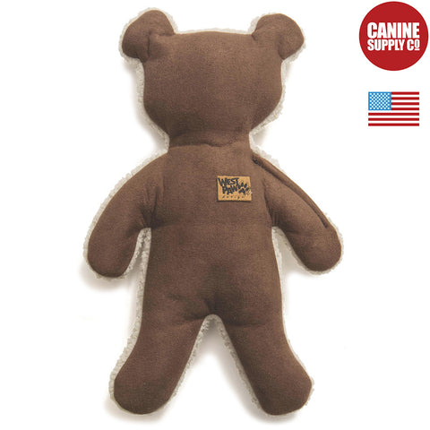 West Paw Design® Big Sky Teddy, Coffee Bean | Canine Supply Co.