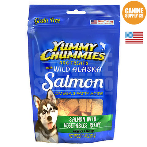 Yummy Chummies® Salmon With Vegetables Recipe | Canine Supply Co.