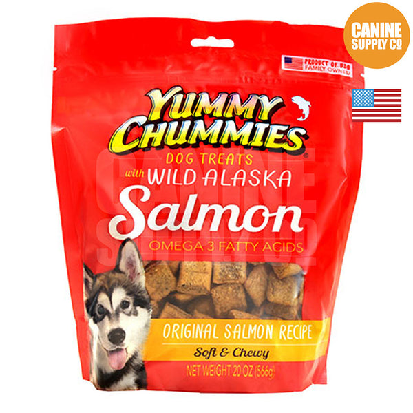 Yummy Chummies® Original Salmon Recipe | Canine Supply Co.