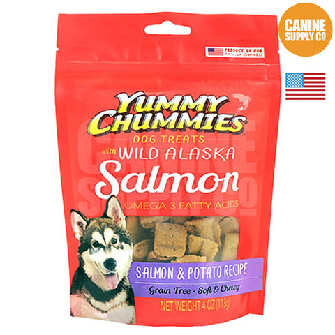 Yummy Chummies® Salmon & Potato Recipe | Canine Supply Co.