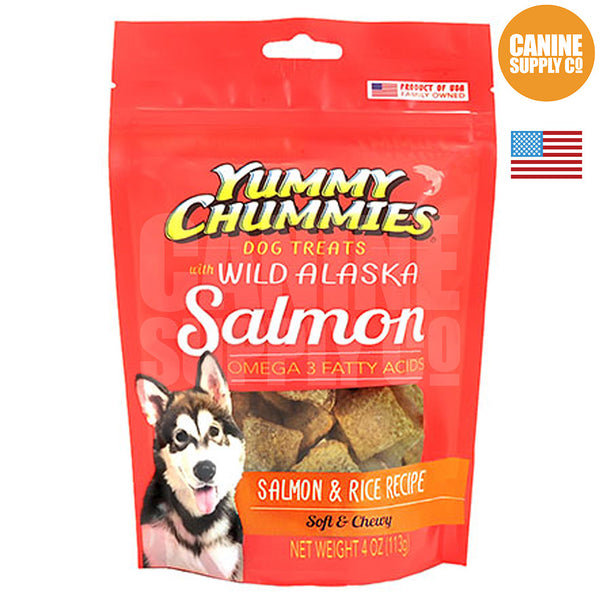 Yummy Chummies® Salmon & Rice Recipe | Canine Supply Co.