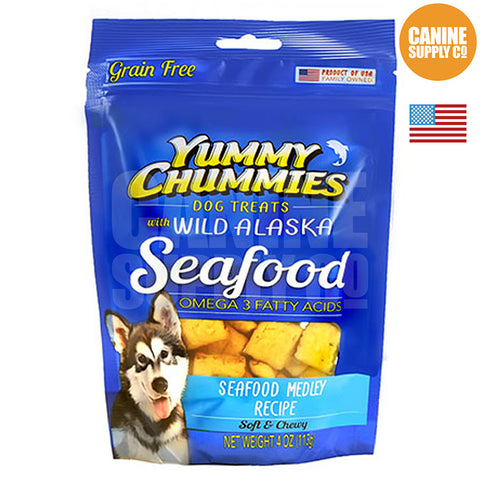 Yummy Chummies® Seafood Medley Recipe | Canine Supply Co.