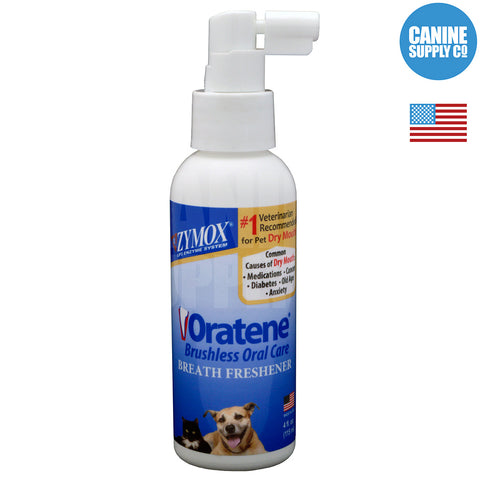 ZYMOX® Oratene Breath Freshener, 4-oz bottle
