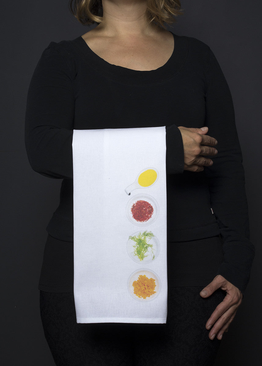 Bouillabaisse tea towel