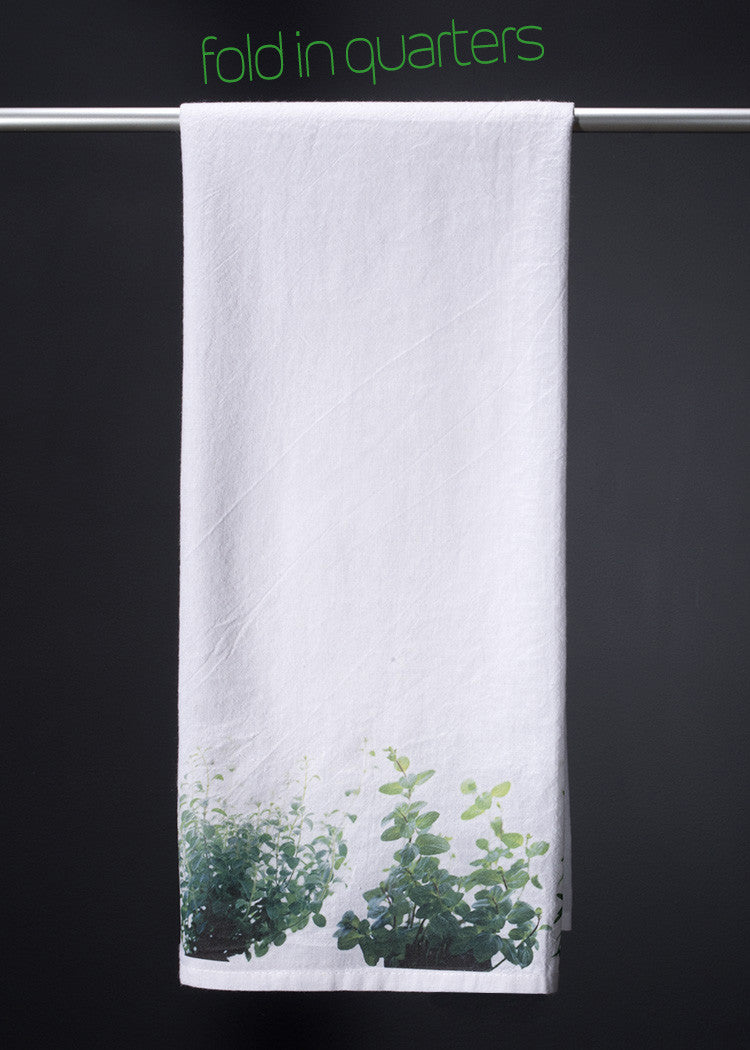Herb Garden Chef's towel