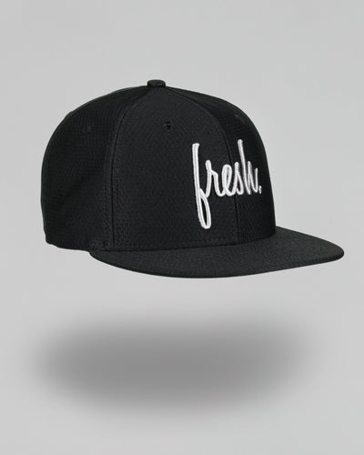 Fresh New Era Snapback - Black Hex
