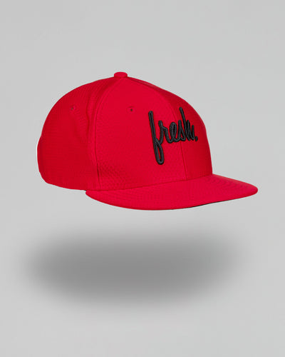Lil' Fresh New Era Snapback - Scarlet Hex