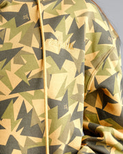 Jagged Camo Hoodie - Gold Medal