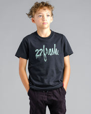 Lil' Rugged 22Fresh Tshirt - Black