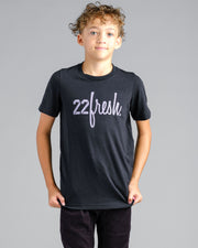 Lil' Mesh 22Fresh Tee - Black