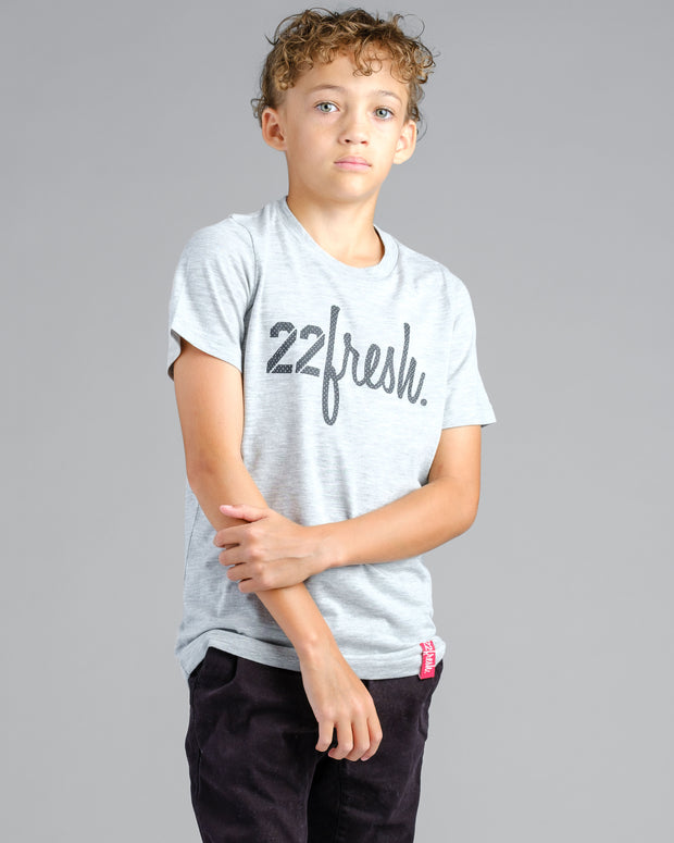 Lil' Mesh 22Fresh Tee - Grey