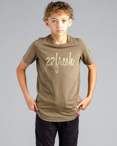 Lil' Rugged 22Fresh Tshirt - Stone
