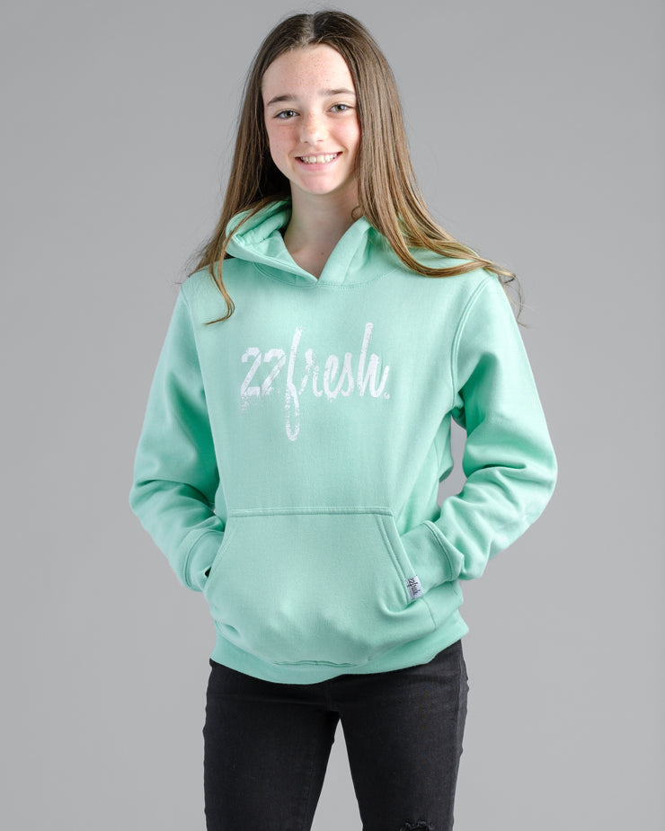 Lil' Rugged 22Fresh Hoodie - Mint Fresh
