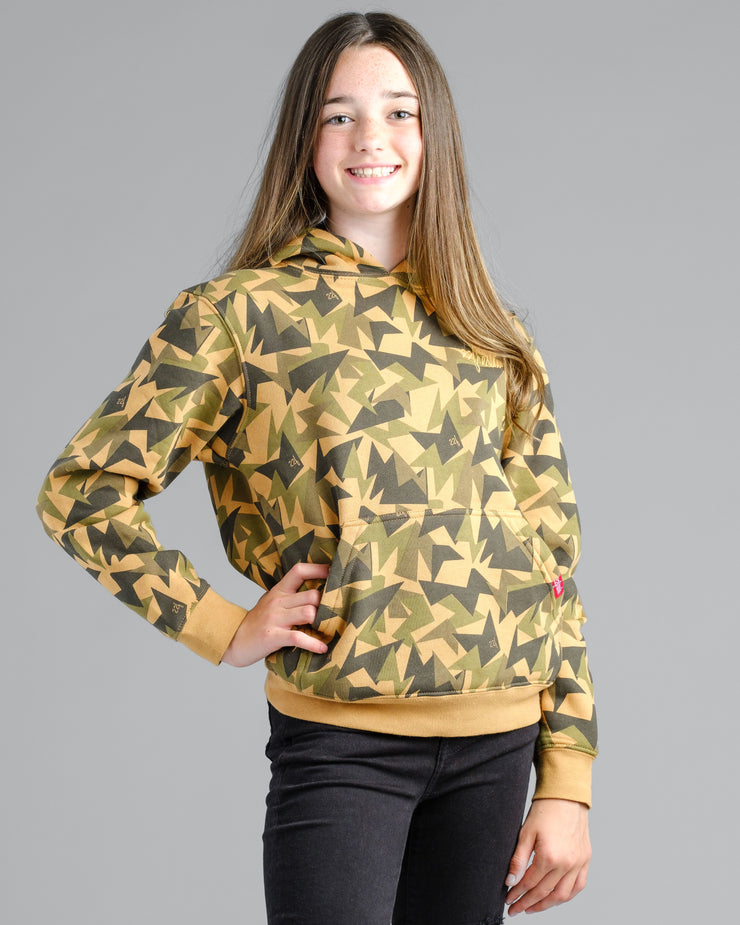 Lil' Jagged Camo Hoodie - Gold Medal