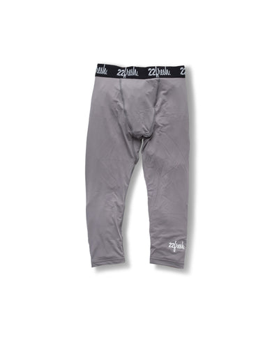FreshTECH: Lil' 3/4 Compression Legging - Grey
