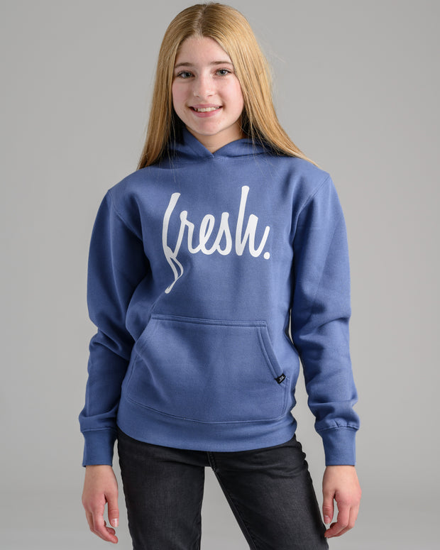 Holiday '20 Collection: Lil' Fresh Hoodie - Denim