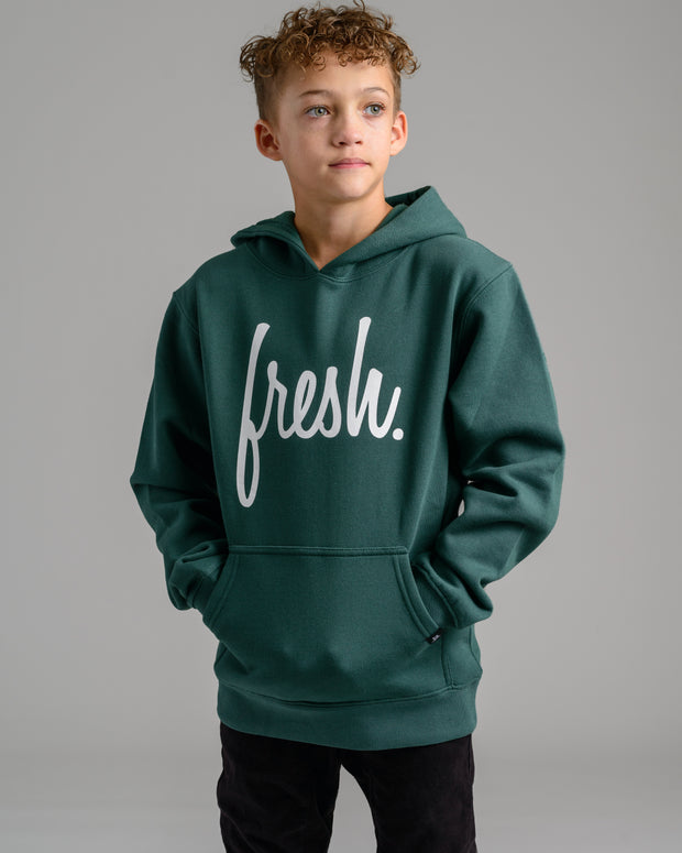 Holiday '20 Collection: Lil' Fresh Hoodie - Forest