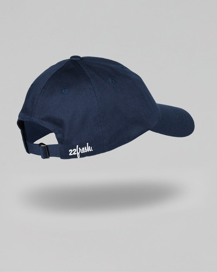 22Fresh Dad Hat - Navy