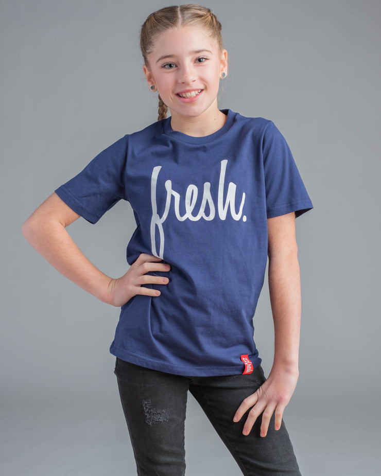 Lil' Fresh Tee - Midnight Navy