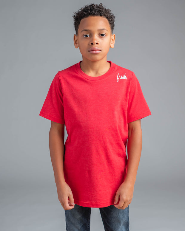 Lil' Micro Fresh Tee - Red
