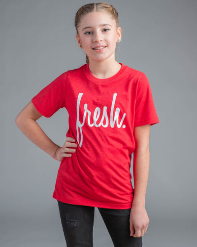 Lil' Fresh Tee - Red