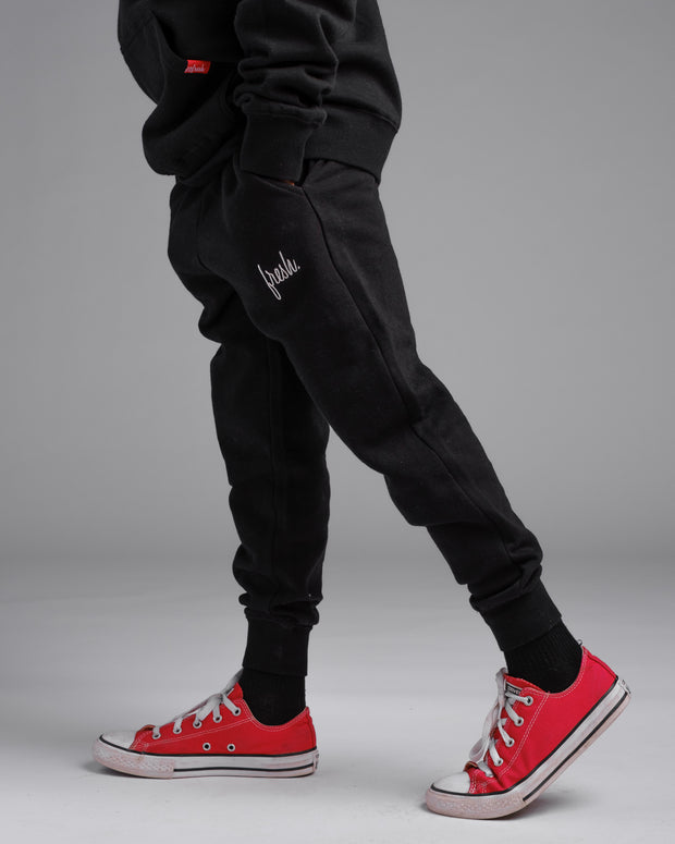 Lil' Uni-Sex Joggers - Black