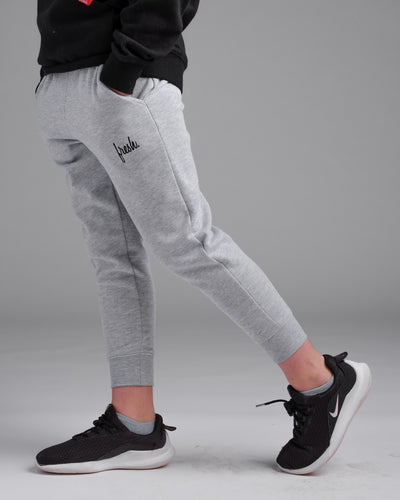 Lil' Uni-Sex Joggers - Heather Grey