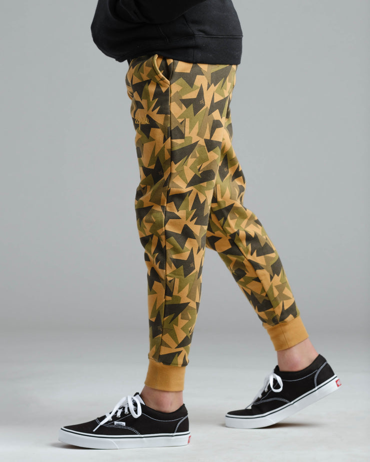 Lil' Jagged Camo Sweat Pant - Gold Medal