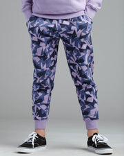 Lil' Jagged Camo Sweat Pant - Thunder