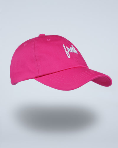 Fresh Dad Hat - Electric Pink