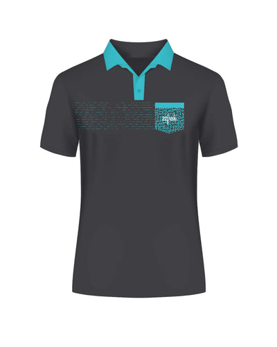 Golf Collection: Lil' Polo - Aqua
