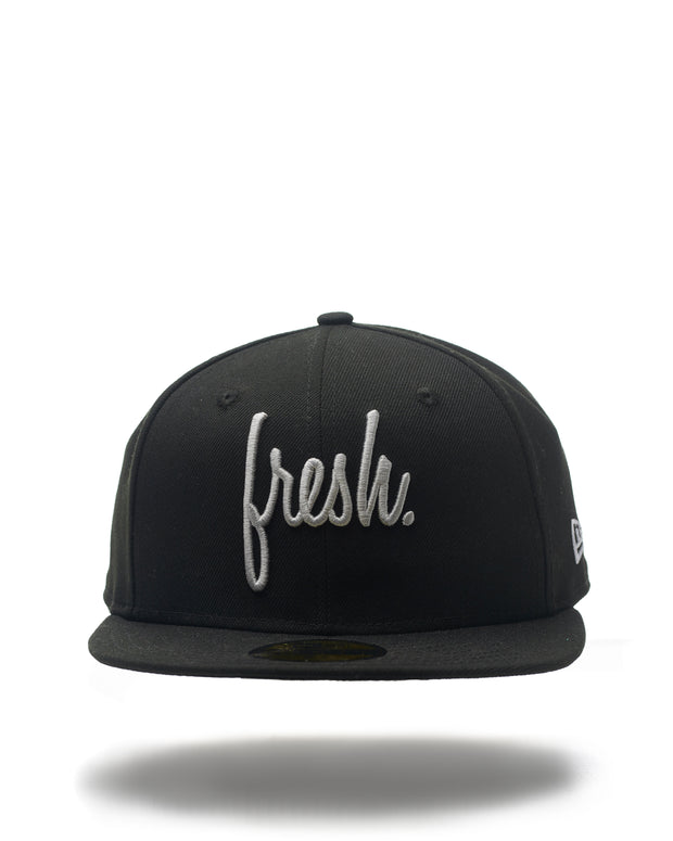 Fresh Fitted New Era Cap - Black
