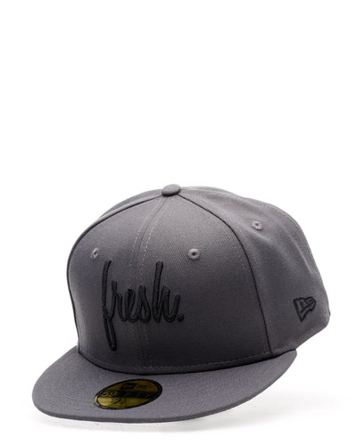 Fresh Fitted New Era Cap - Graphite
