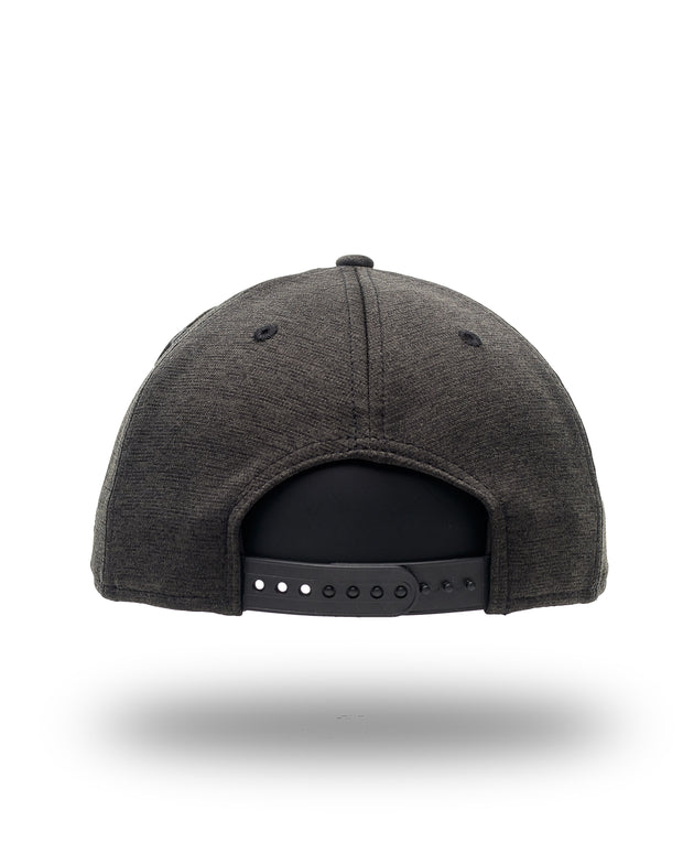 Fresh New Era Snapback - Heather Black