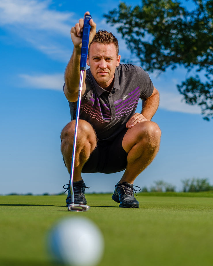 Golf Collection: Polo - Violet