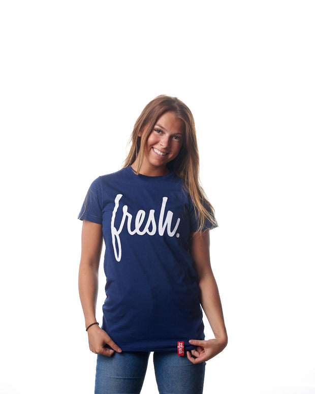 The Fresh Tee - Navy