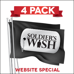 Soldier's Wish Flag - 4 PACK
