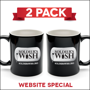 Soldier's Wish Mug - 2 PACK