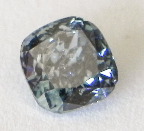 0.74 Ct. Cushion I2 Fancy Blue